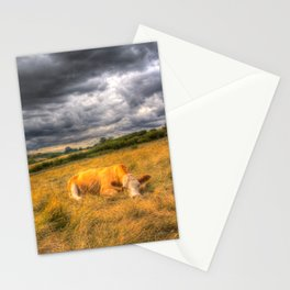 The Resting Cows Stationery Cards