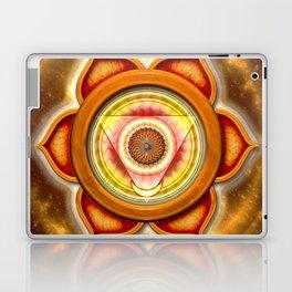 "Svadhisthana Chakra - Sacral Chakra - Series ""Open Chakra"" Laptop & iPad Skin"