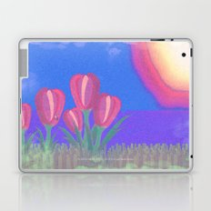 FLOWERS IN THE SUN V3 - 023 Laptop & iPad Skin