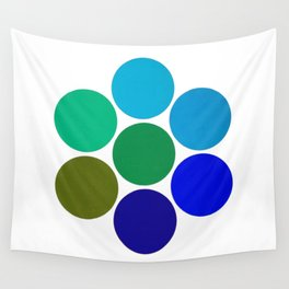 Cool Science Circles Wall Tapestry