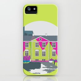 Reykjavik Boulevard #13 iPhone Case