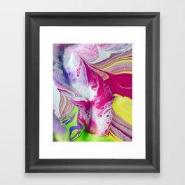 Let it flow Framed Art Print