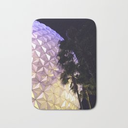 Epcot Globe at Night Bath Mat
