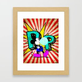 The Mouse - Pop Framed Art Print