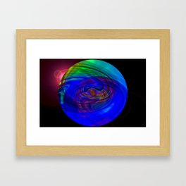 vario animi motu terrarum Framed Art Print