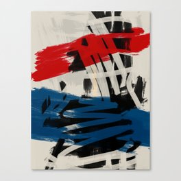 French Expressionist Abstract Art Canvas Print