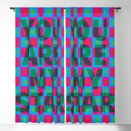 You are my star! Blackout Curtain
