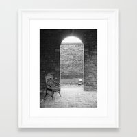 edgar allen poe Framed Art Prints featuring Edgar Allen Poe Musem by OBwan