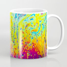 Psychedelic Spectrum Melting Coffee Mug