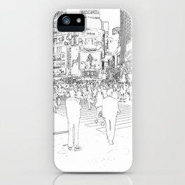 Tokyo citylife iPhone Case