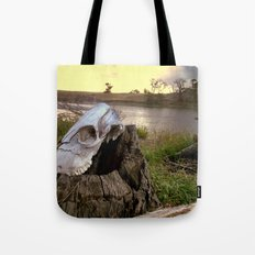 Trail Marker Tote Bag