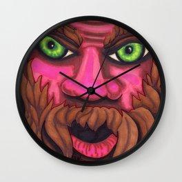 Forrest Grump - Mazuir Ross Wall Clock