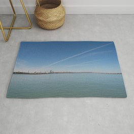 all lakes lead you home Rug