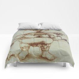 Pyramid Dick Comforters