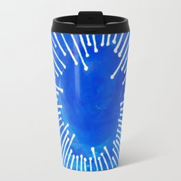 Blue Circle Travel Mug