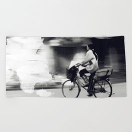 Speedy Ride Beach Towel