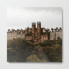 Assembly Hall Metal Print