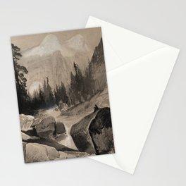 The North Dome, Yosemite, California by Thomas Moran, 1872 Stationery Cards