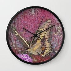 Butterfly 2 Wall Clock