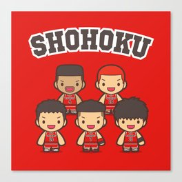 Shohoku basketball Canvas Print