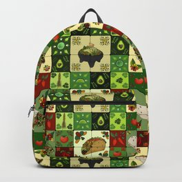Mexican Restaurant Tiles Backpack