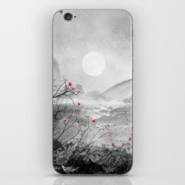 The red sounds and poems, Chapter II iPhone Skin