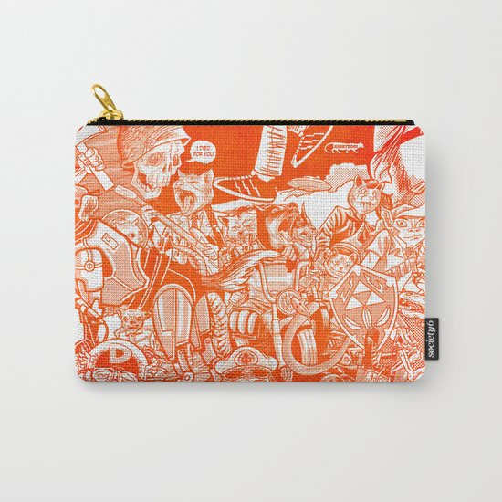 explosion! Carry-All Pouch