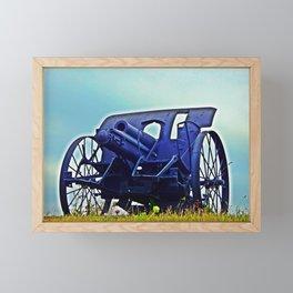 Antique Cannon HD Framed Mini Art Print