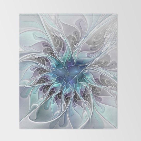 Flourish Abstract, Fantasy Flower Fractal Art by gabiwart