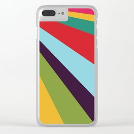 Bright Rays of Light - Circus Tent - Pride Beams - 57 Montgomery Ave Clear iPhone Case