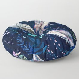 Night Owls Floor Pillow