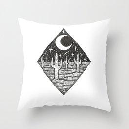 Desert Dreamin Throw Pillow