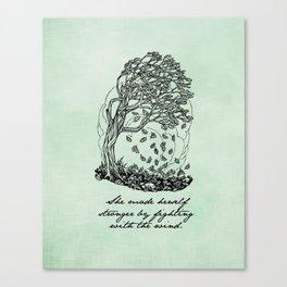 The Secret Garden - She Made Herself Stronger Canvas Print