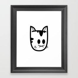 Big Ol' Cat Logo: Classique! Framed Art Print