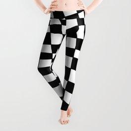 Black and White Distortion Leggings