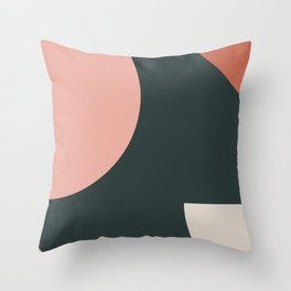 Orbit 01 Modern Geometric Throw Pillow