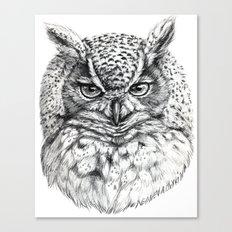 Owl SK136 Canvas Print