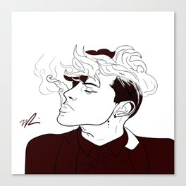 Male Beauty Canvas Print