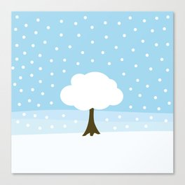 Winter -Extended edition Canvas Print