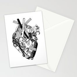 Heart of a stylist Stationery Cards