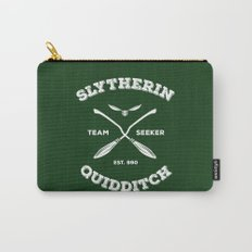 Slytherin Quidditch Team Seeker: Green Carry-All Pouch