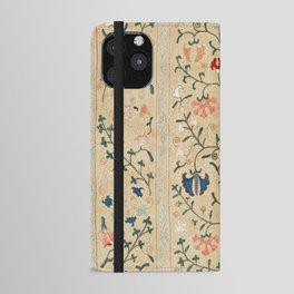 Uzbekistan Suzani Nim Embroidery Print iPhone Wallet Case
