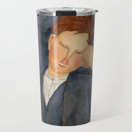 "Amedeo Modigliani ""The Young Apprentice"" Travel Mug"