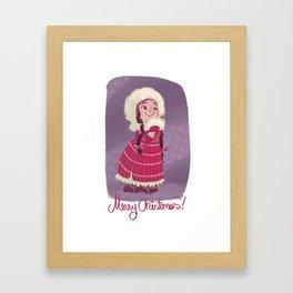 Christmas! Framed Art Print