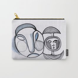 Non-Speaking Heads Carry-All Pouch