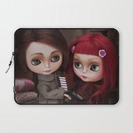 Erregiro Blythe Custom Doll Lisbeth & Edward based on Benjamin Lacombe tale Laptop Sleeve