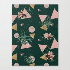 Succulents Atoms #society6 #decor #buyart Canvas Print