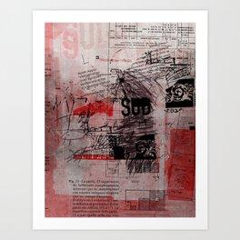 misprint 102 Art Print