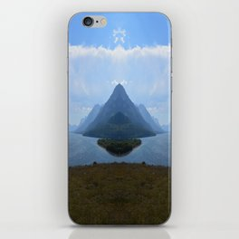 Mirrored Landscape iPhone Skin