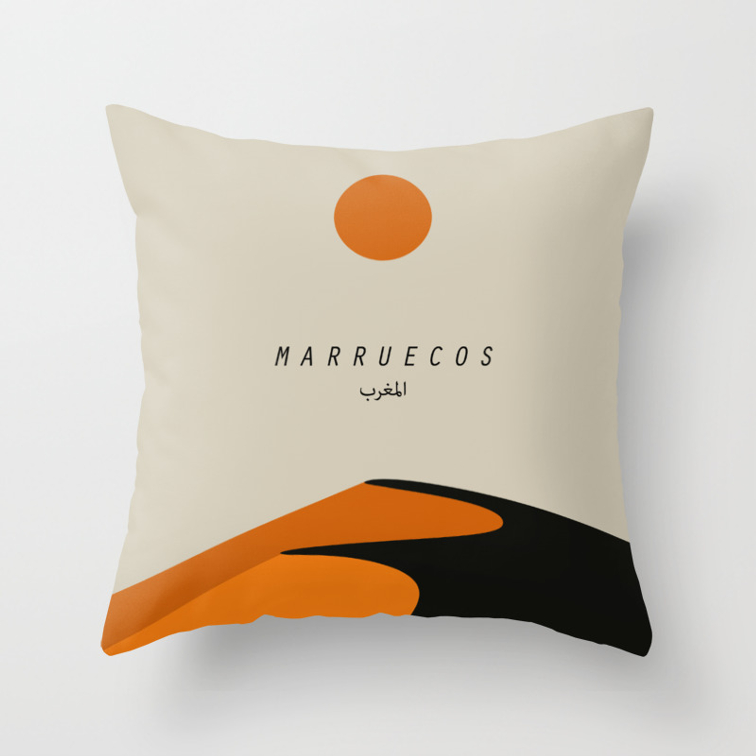 Moroccan Desert Throw Pillow By Yaystore Society6